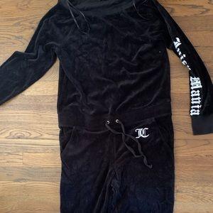 Juicy Couture Velvet Jumpsuit
